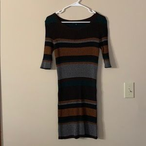 Sanctuary sweater dress beautiful fall colors